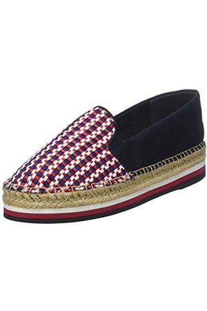 Tommy Hilfiger Women's Corporate Interwoven Flatform Espadrilles