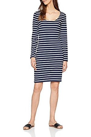 Tommy Hilfiger Women's Tjw Bodycon Longsleeve Dress Mini Striped Long Sleeve Dress, Multicolored ( Iris/Bright 902)
