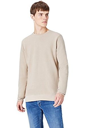 FIND Men's Sweatshirt Textured Long Sleeve
