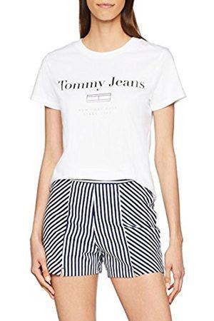 Tommy Hilfiger Women's Tjw Metallic Flag Logo Tee Vest
