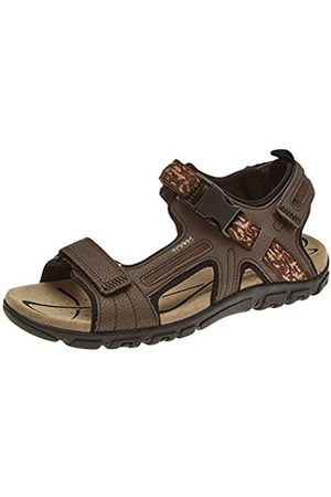 Geox Men's Uomo Strada A Ankle Strap Sandals