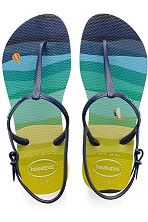 Havaianas Girls' Freedom Print Ankle Strap Sandals