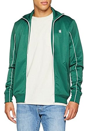 G-Star Men Sweatshirts - G-Star Men's Lanc Slim Tracktop Sw L/S Sweatshirt, ( Loden)