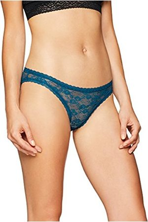 IRIS & LILLY Women's Body Smooth Lace Bikini Brief, Pack of 3