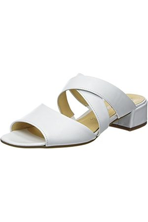 f53c3bd76bc Gabor Women s Fashion Mules Weiss 21 ...