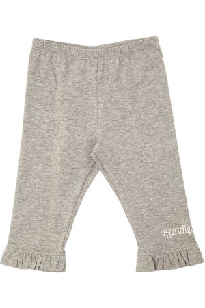 Fendi COTTON JERSEY SWEATPANTS