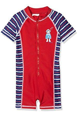 Playshoes Boy's Einteiler Taucher mit UV-Schutz Swim Shorts, (Rot)