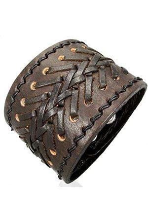 cored Leather Bracelet 19.5 CM/21.5 CM KK5