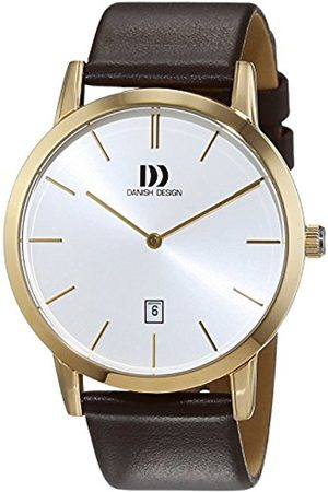 Danish Design Men's Quartz Watch 3310090 with Leather Strap