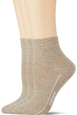 Camano Women's CA-Soft Quarter 3-Er Ankle Socks