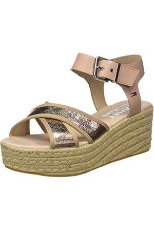 Tommy Hilfiger Women's Metallic Flatform Sandals