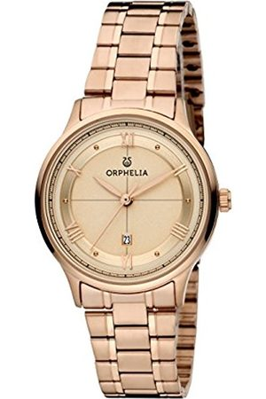 ORPHELIA Carnaby Women's Quartz Watch with Rose Dial Analogue Display and Rose Stainless Steel Bracelet 12600