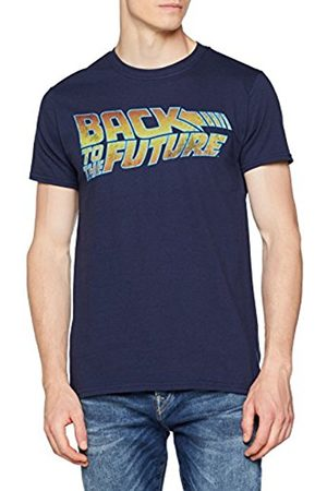 UNKNOWN Back to The Future Men's Logo T-Shirt