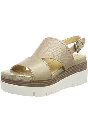 Geox Women's D Radwa B Flatform Sandals