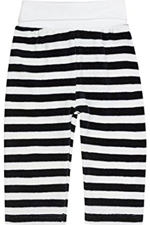 Steiff Unisex Baby 0002864 Jogging Striped Tracksuit Bottoms, Marine