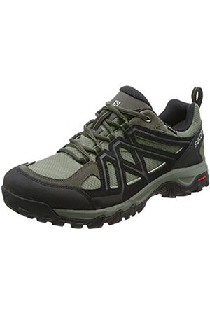 Salomon Men's Evasion 2 GTX Hiking and Multifunction Shoe, Synthetic/Textile, (Castor Gray/ /Chive)