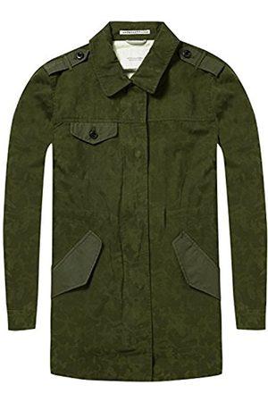 Scotch&Soda Maison Women's Military Special Camouflage Print Jacket
