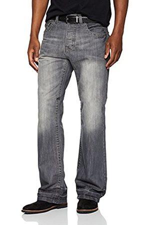 Raw Indigo Ltd Men's A42 Boot Cut Plain Bootcut Jeans