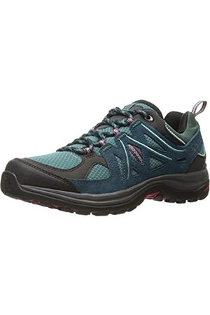 Salomon Women's Ellipse 2 AERO W Hiking and Multifunction Shoe, Synthetic/Textile, (Artic/Reflecting Pond/Sangria)