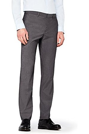 Hem & Seam Men's Slim Fit Tonic Formal Trouser