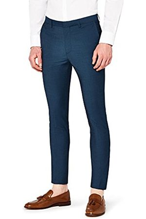 Hem & Seam Men's Super Skinny Fit Tonic Formal Trouser