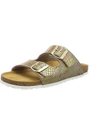 LICO Women's Natural Snake Soft Low-Top Slippers