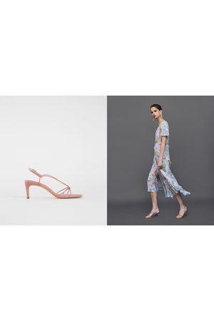 8777957389d Zara strappy women s shoes