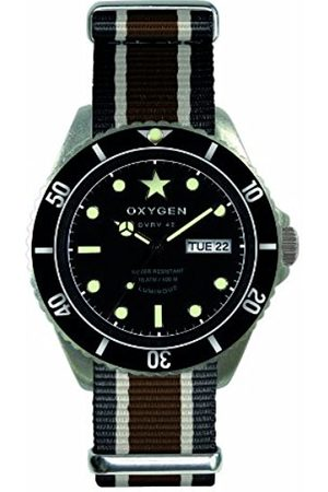 Oxygen Cigar Unisex Quartz Watch with Dial Analogue Display and Nylon Strap