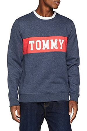 Tommy Hilfiger Men's TJM Panel Logo Crew Sweatshirt