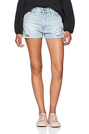 d43be3fb7a6b Women's Hotpant Denim Short Straight Jeans