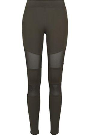 Urban classics Women Leggings & Treggings - Women's Ladies Tech Mesh Leggings