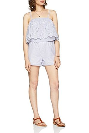 Only Women's rsah S/l Anglaise Emb DNM Playsuit