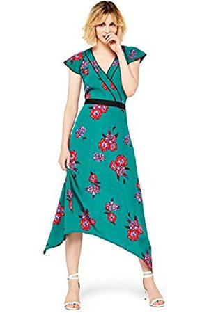 FIND Women's Floral Print Midi Dress