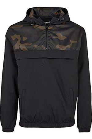 Urban classics Men's 2-Tone Pullover Jacket