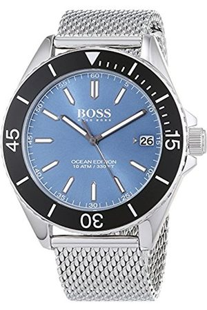HUGO BOSS Unisex-Adult Analogue Classic Quartz Connected Wrist Watch with Stainless Steel Strap 1513561