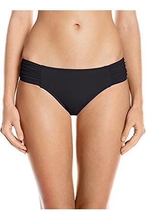Seafolly Women's Ruched Side Retro Medium Coverage Swimsuit Bikini Bottoms