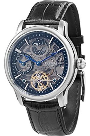 THOMAS EARNSHAW Thomas Earnhshaw Men's Longitude Shadow Automatic Watch with Dial Skeleton Display and Leather Strap ES-8063-04