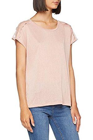 Only Women's Onltyra S/s Lace Mix Top JRS Vest
