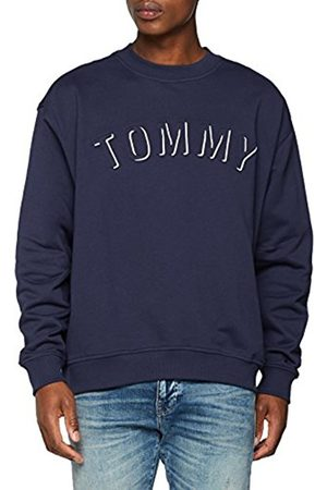 Tommy Hilfiger Men's TJM Outline Logo Crew Sweatshirt