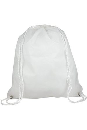 eBuyGB Pack of 10 Drawstring Rucksack Gym Bag Children's Backpack, 41 cm