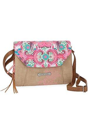 Catalina Estrada Faisan Messenger Bag, 20 cm