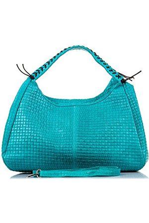Firenze Artegiani Women's Shoulder Bag Turquoise