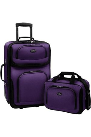 Traveler's Choice US Traveler Rio Two Piece Expandable Carry-On Luggage Set