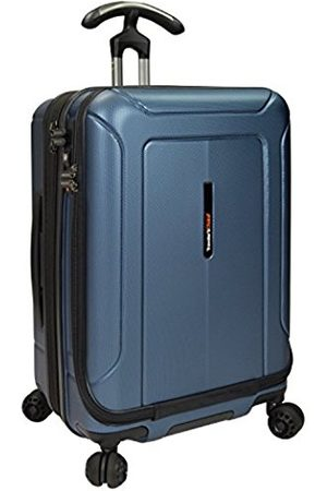 """Traveler's Choice Traveler's Choice Barcelona Dual Compartment 22"""" 100% Polycarbonate Hardside Spinner & Packing Cubes Set"""
