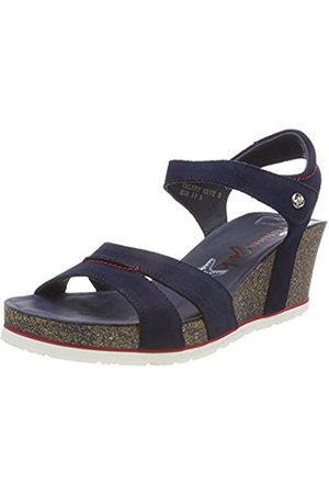 Panama Jack Women's Valery Navy Open Toe Sandals
