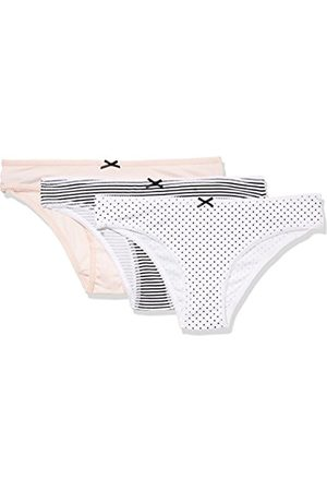 IRIS & LILLY Women's Cotton Brazilian Knicker