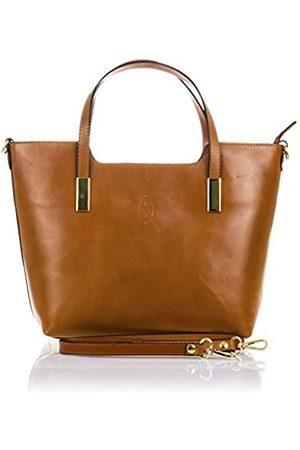 Firenze Artegiani Women's Tote Bag Camel 37 * 14 * 26