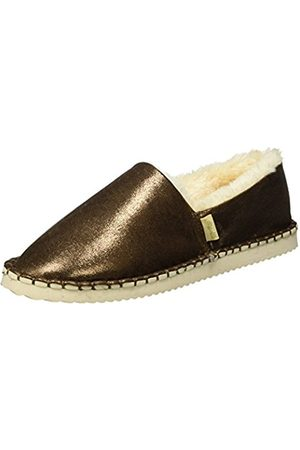 flip*flop Women's Flippadrilla Shiny Loafers, -Braun ( Sugar 833)