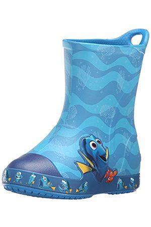 Crocs Bump It FindingDory Boot Ocean, Unisex Kids' Rain Boots, (Ocean 456)
