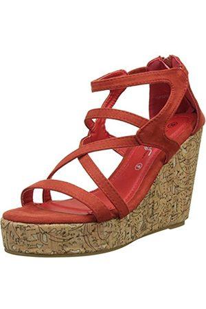The Divine Factory Women's Angela Platform Sandals